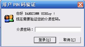 用户PIN码验证
